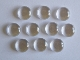 12mm Glass Cabochons x 10