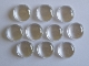 18mm Glass Cabochons x 10