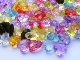* Faceted Heart Beads Grab Bag