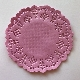 Coloured Doilies 3.5