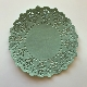 Coloured Paper Doilies - Jade