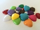 Solid Heart Cabochons Grab Bag
