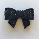 Sequin Bow - Midnight