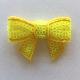 Sequin Bow - Bright Yellow